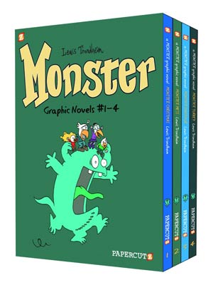 DO NOT USE (DNO) Monster Vol 1-4 HC Box Set