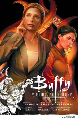 Buffy The Vampire Slayer Season 9 Vol 3 Guarded TP