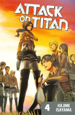 Attack On Titan Vol 4 GN