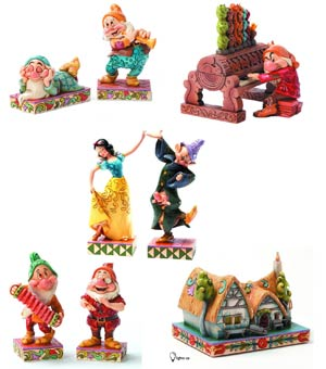 Walt Disneys Snow White & The Seven Dwarfs Figurine Pre-Pack
