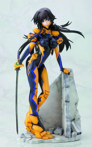 Muv-Luv Alternative Total Eclipse Yui Takamura Ani-Statue