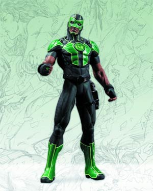 Green Lantern Simon Baz Action Figure