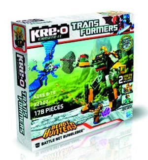 KRE-O Transformers Battle Net Bumblebee Set