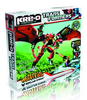 KRE-O Transformers Ripclaw Strike Set