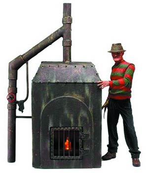 Nightmare On Elm Street Freddys Furnace Diorama