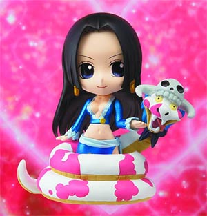 One Piece Chibi-Arts - Boa Hancock With Salome Figure