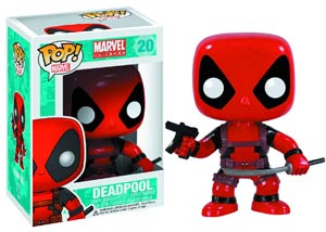 POP Marvel Classic 20 Deadpool Vinyl Bobble Head