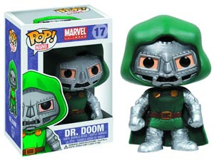 POP Marvel Classic 17 Dr Doom Vinyl Bobble Head