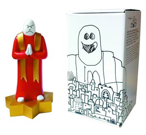 Mark Gonzales Priest 10-Inch Vinyl Figure
