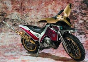Kamen Rider SIC Kiwami Damashii - Masked Rider Kuuga Trychaser 2000 Motorcycle