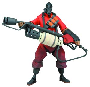 Team Fortress Series 1 Pyro 7-Inch Deluxe Action Figure