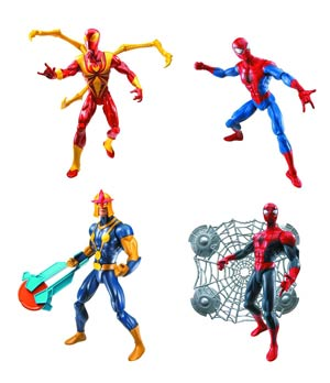 Ultimate Spider-Man 6-Inch Action Figure Assortment Case 201301