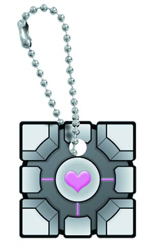 Portal Key Cap - Original Companion Cube