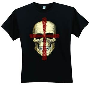 Crossed Skull T-Shirt Large
