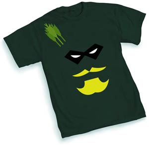 Green Arrow Face T-Shirt Large