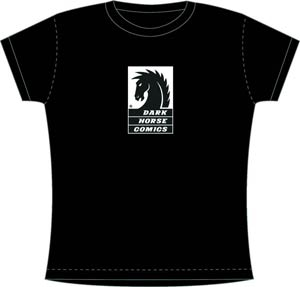Dark Horse Womens T-Shirt Large