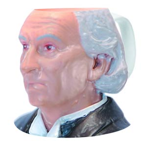 Doctor Who Figural Mug - First Doctor