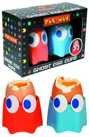 Pac-Man Ghost Egg Cups 2-Pack