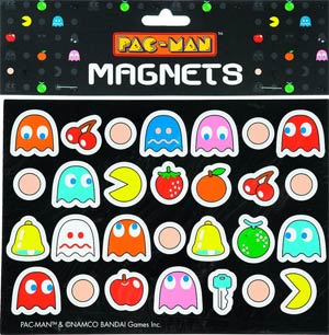 Pac-Man Magnets 28-Piece Set