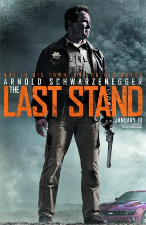 Last Stand Blu-ray DVD