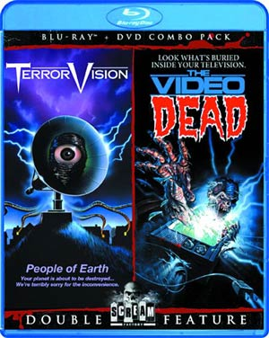 Terrorvision / The Video Dead Double Feature DVD