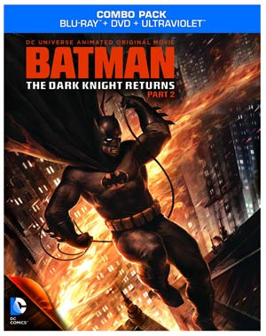 Batman The Dark Knight Returns Part 2 Blu-ray Combo DVD