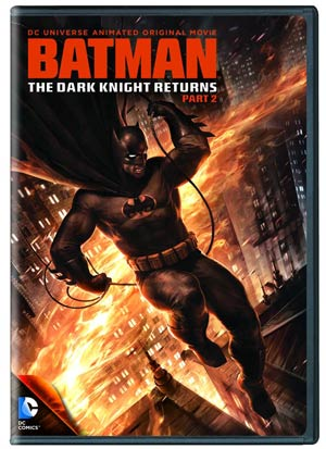 Batman The Dark Knight Returns Part 2 DVD