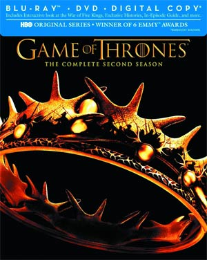 Game Of Thrones The Complete Season 2 Blu-ray DVD