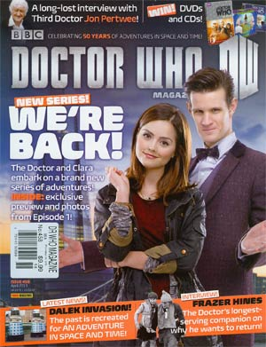 Doctor Who Magazine #458 Apr 2013