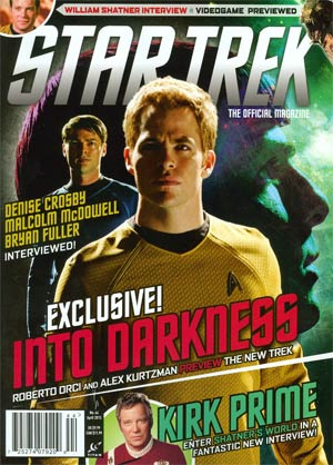 Star Trek Magazine #44 Apr 2013 Newsstand Edition