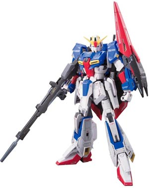 Gundam Model Kit Action Figure Real Grade 1/144 Scale #10 Zeta Gundam A.E.U.G. Attack Use Prototype Variable Form Mobile Suit MSZ-006