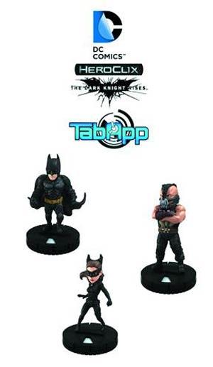 DC HeroClix Dark Knight Rises TabApp Pack