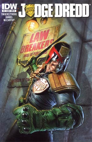 Judge Dredd Vol 4 #2 1st Ptg Regular Cover B Greg Staples