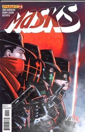Masks #2 Regular Howard Chaykin Cover