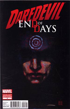 Daredevil End Of Days #4 Incentive David Mack Variant Cover