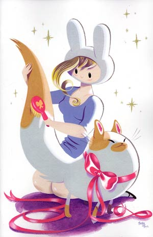 Adventure Time Fionna & Cake #1 Incentive Frank & Becky Virgin Variant Cover