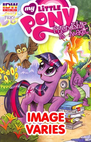 My Little Pony Friendship Is Magic #1 2nd Ptg (Filled Randomly With 1 Of 6 Covers)