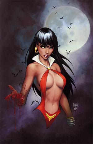 Vampirella Strikes Vol 2 #1 Incentive Michael Turner Virgin Cover