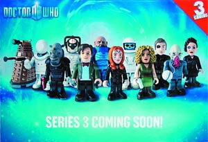 Doctor Who Character Building Mini Figure Series 3 Blind Mystery Box