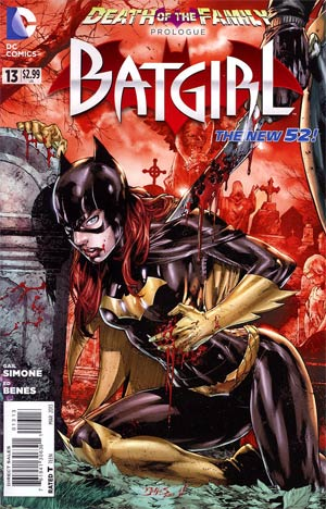 Batgirl Vol 4 #13 3rd Ptg (Death Of The Family Prelude)