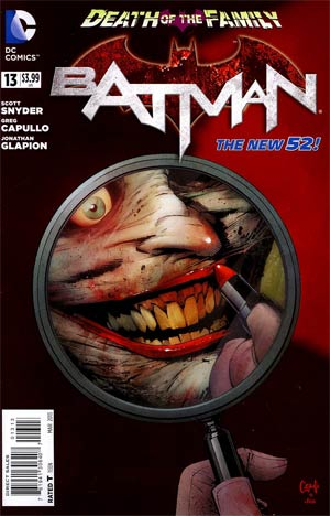 Batman Vol 2 #13 3rd Ptg (Death Of The Family Tie-In)