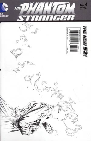 Phantom Stranger Vol 4 #4 Incentive Brent Anderson Sketch Cover