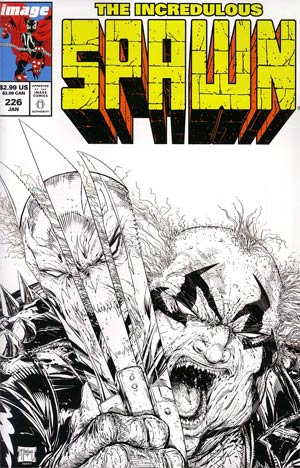 Spawn #226 Incentive Todd McFarlane Sketch Cover