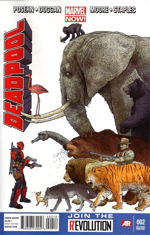 Deadpool Vol 4 #2 2nd Ptg Geof Darrow Variant Cover