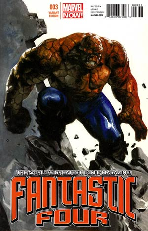 Fantastic Four Vol 4 #3 Incentive Gabriele Dell Otto Variant Cover
