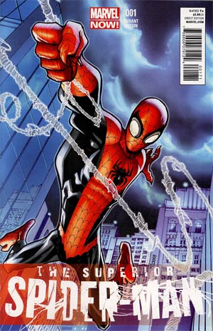 Superior Spider-Man #1 Incentive Humberto Ramos Variant Cover