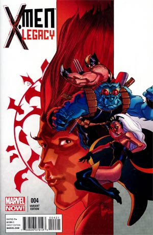 X-Men Legacy Vol 2 #4 Cover B Incentive Pasqual Ferry Variant Cover