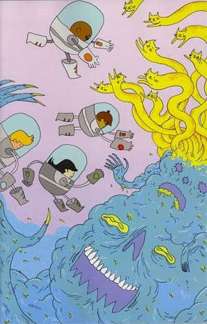 Bravest Warriors #4 Incentive Nathan Bulmer Virgin Variant Cover