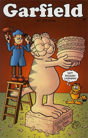 Garfield #9 Incentive Al Jaffee Variant Cover