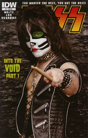 KISS Vol 2 #7 Incentive KISS Photo Variant Cover